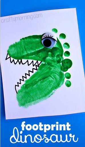 dinosaur-footprint-craft-for-kids