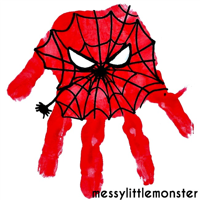 spiderman craft 2
