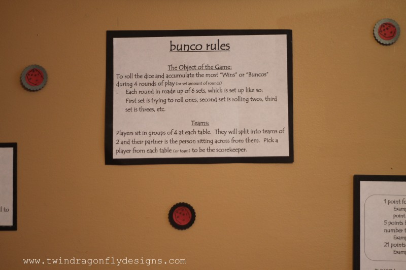 Bunco Games Night-005