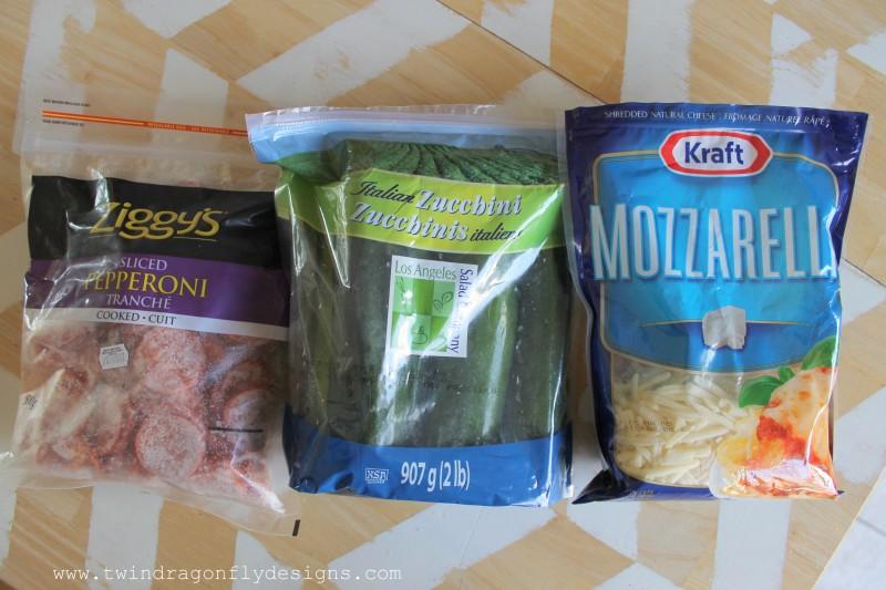 Grilled Zucchini Pizza Bites