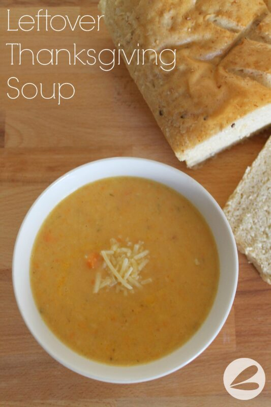 Leftover Thanksgiving Soup Recipe