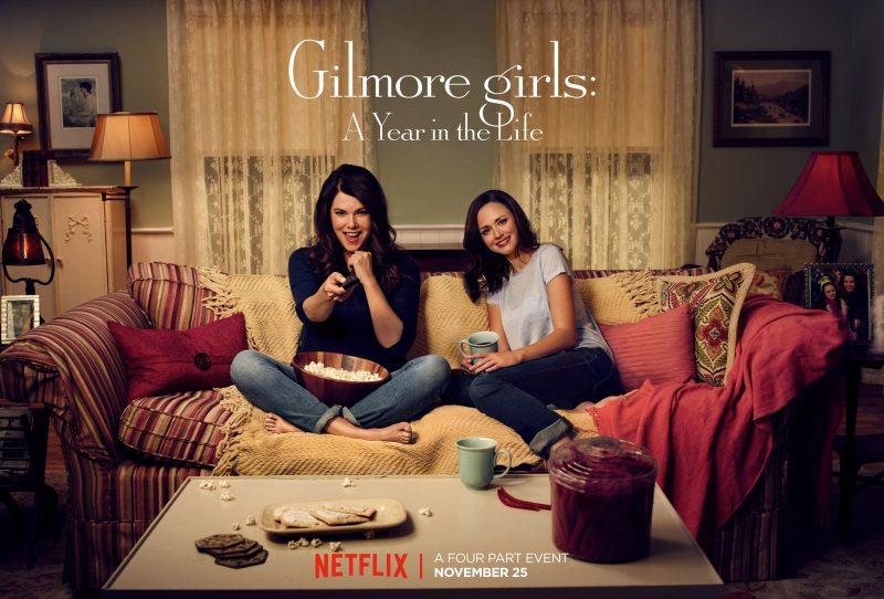 Gilmore Girls Night with Netflix