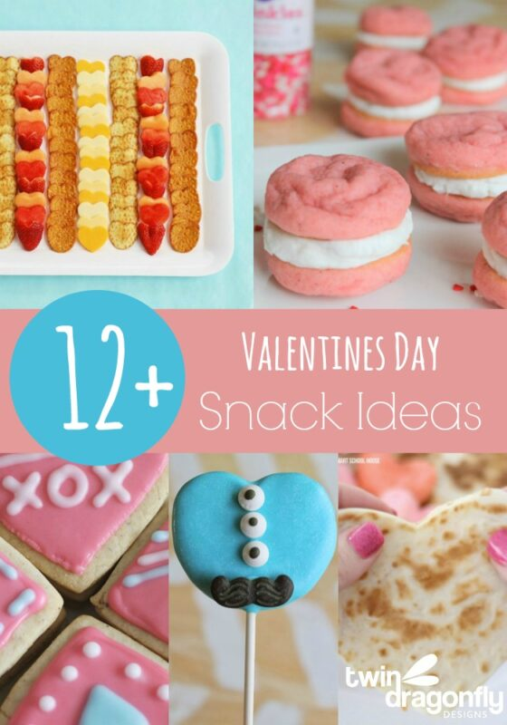 12+ Valentines Day Snack Ideas