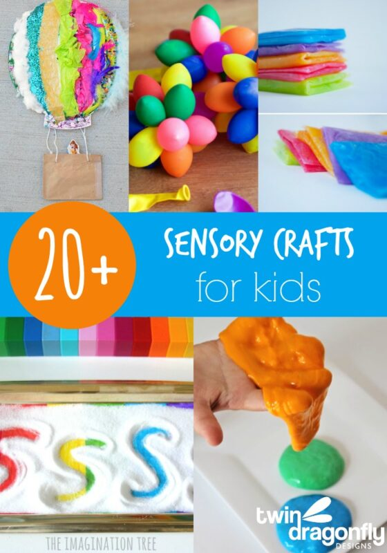 20+ Sensory Crafts for Kids