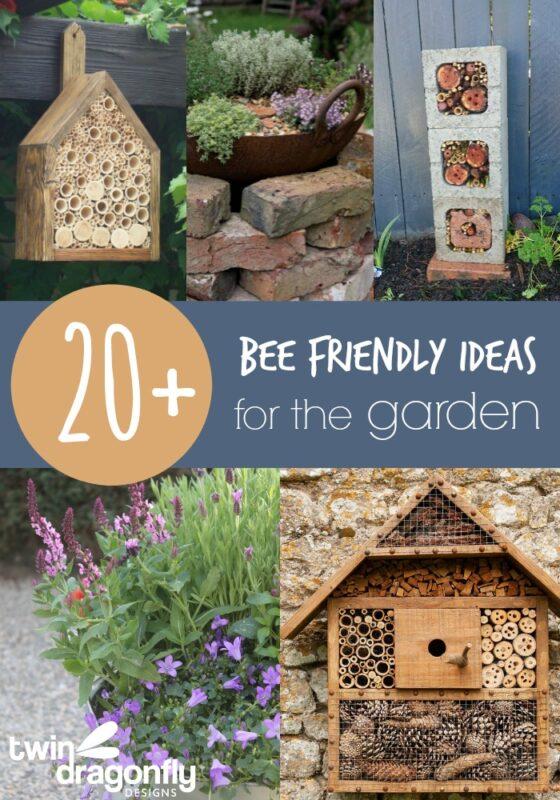 Twenty Bee Friendly Ideas for the Garden