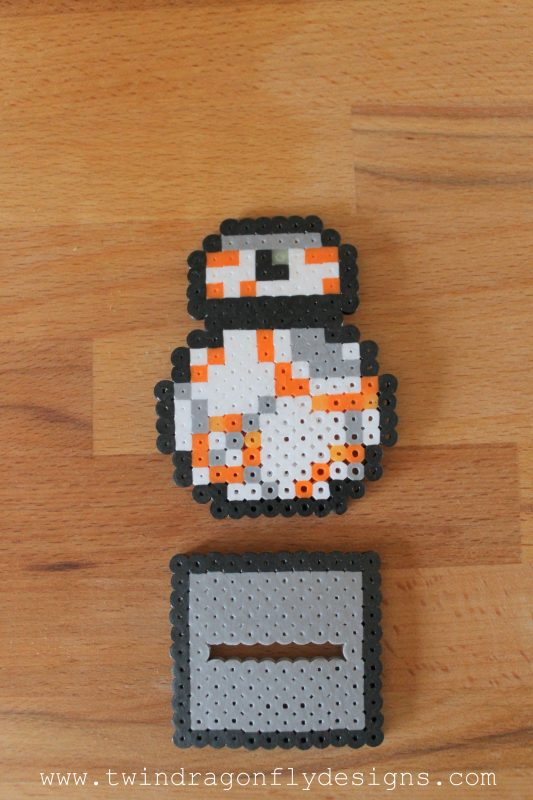 BB8 Perler Bead Dash Buddy and Star Wars on Netflix