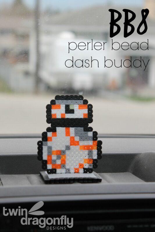 BB8 Perler Bead Dash Buddy and Star Wars on Netflix