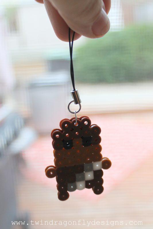 Chewbacca Perler Bead Keychain