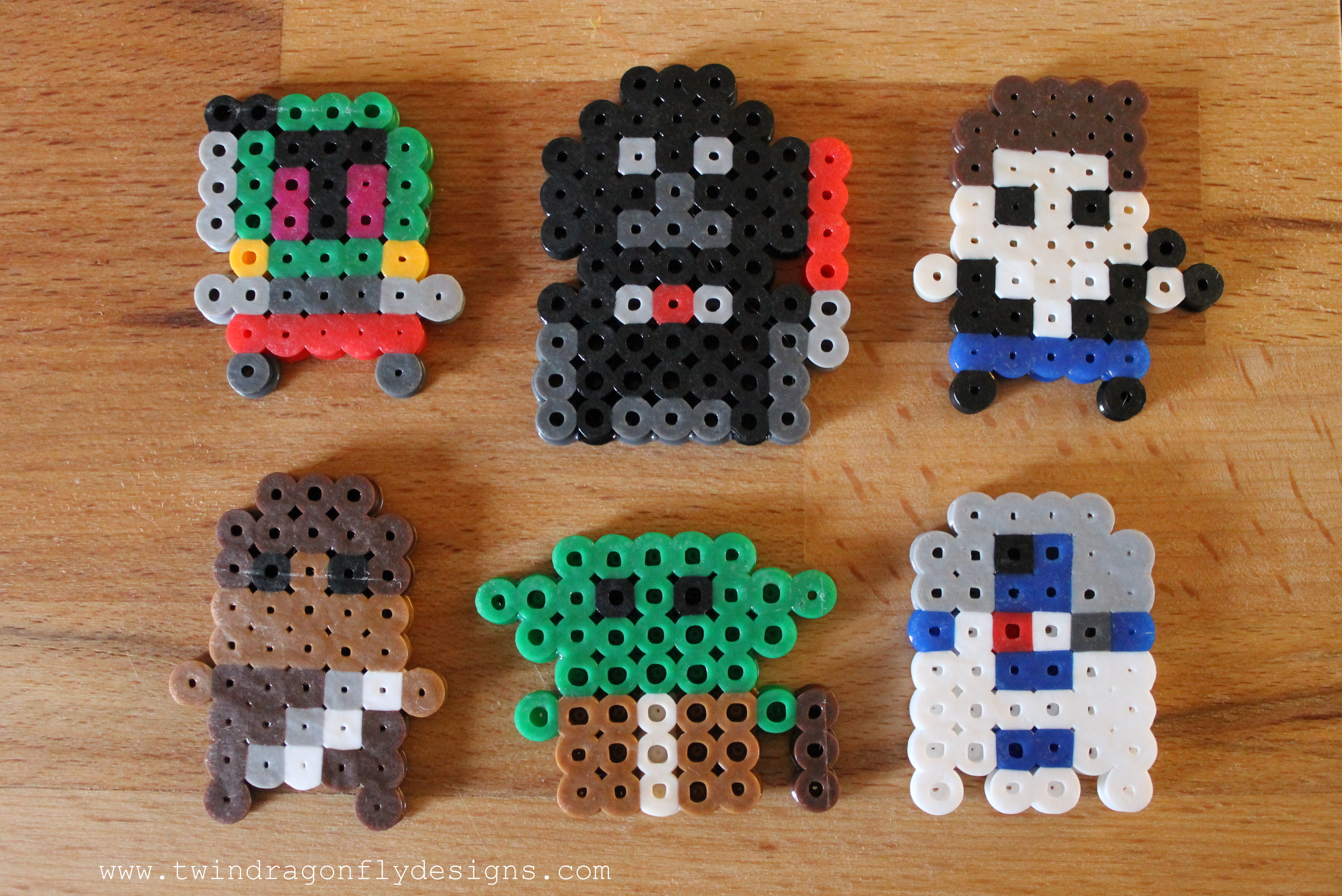 Star Wars Perler Bead Minis » Dragonfly Designs