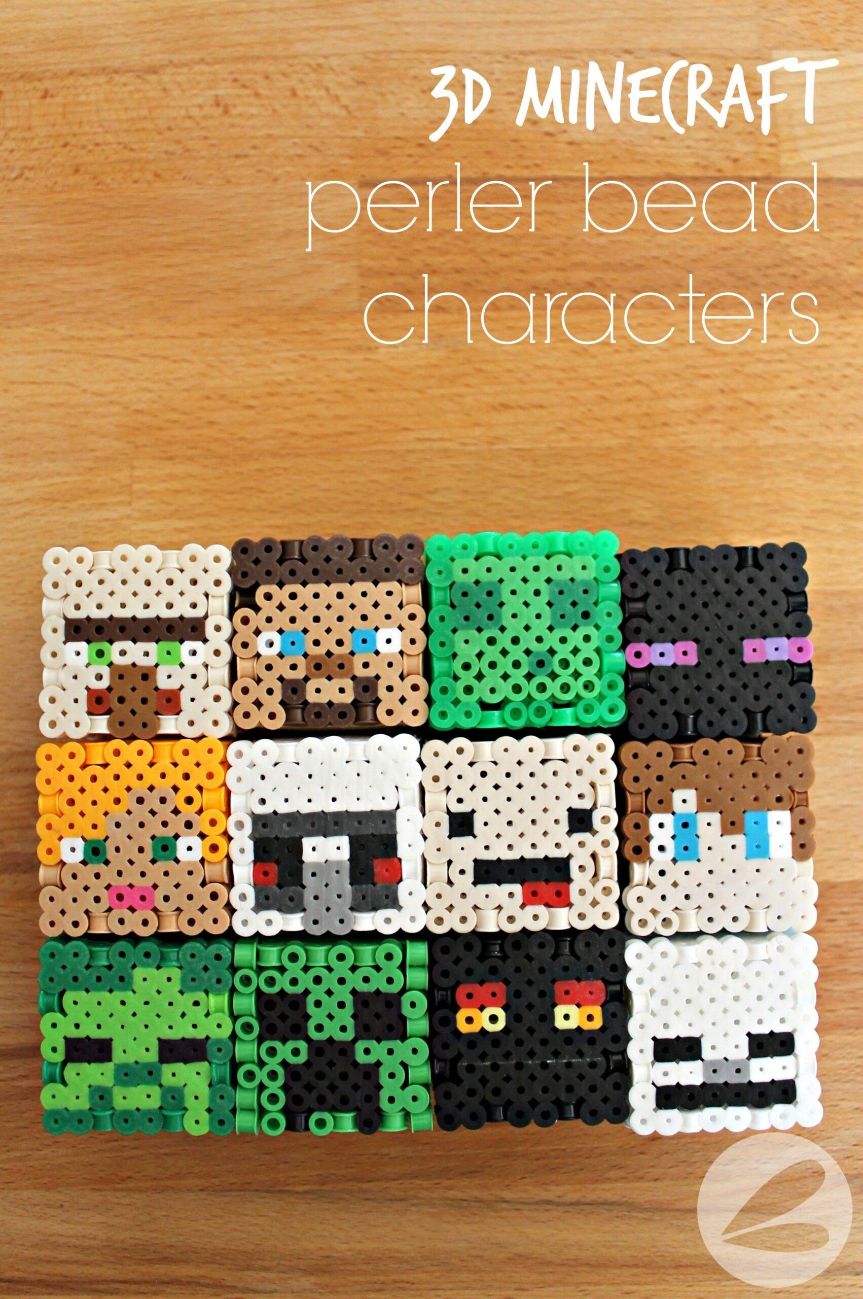 10D Minecraft Perler Bead Patterns » Homemade Heather