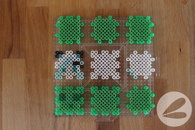3D Minecraft Perler Bead Characters