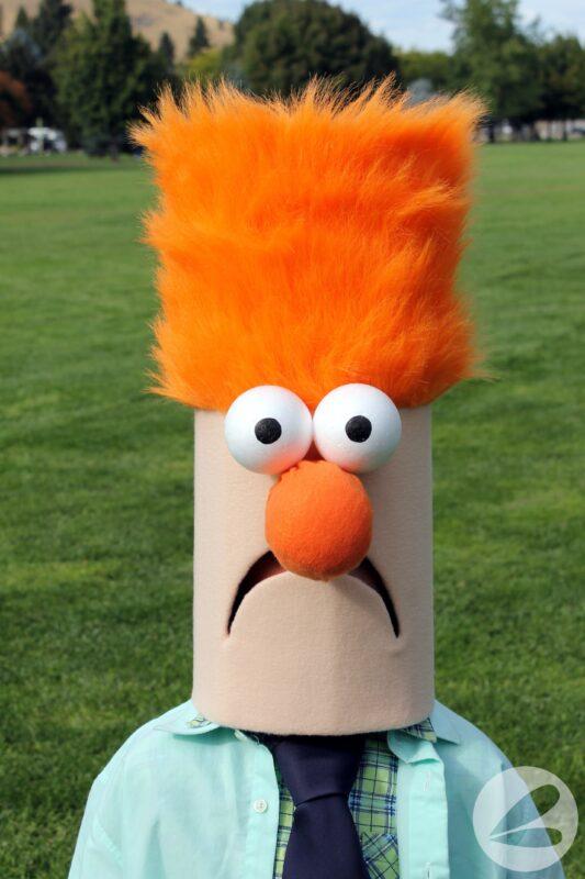 Beeker Muppet Costume Tutorial