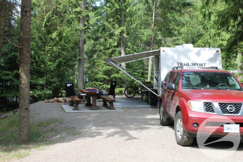 Mabel Lake Camping Review