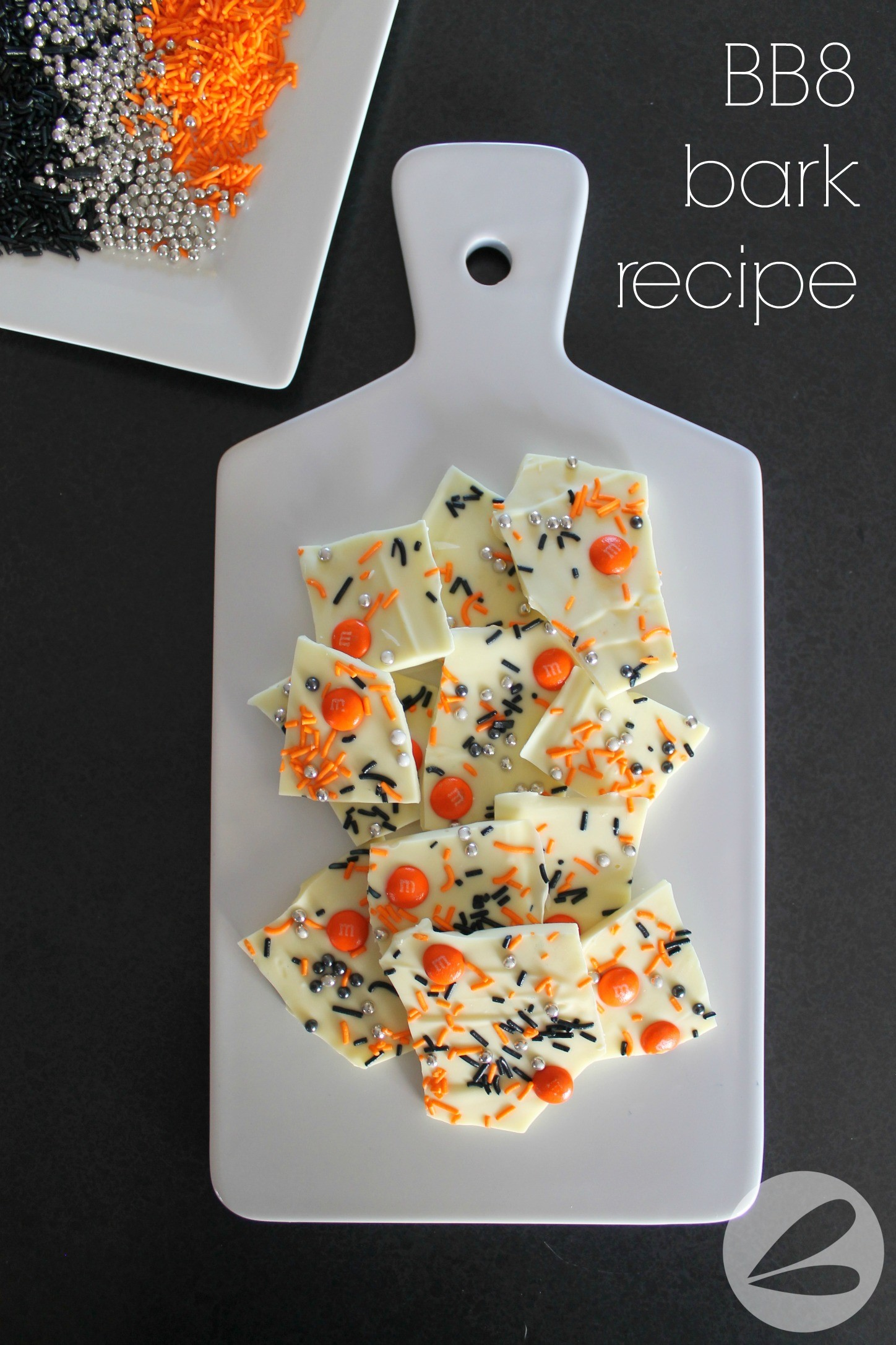 BB8 Bark Recipe