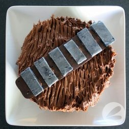 Easy Chewbacca Chocolate Cheesecake