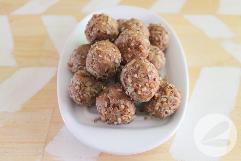 Pecan Pumpkin Spice Date Bites