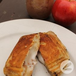 Pie Iron Apple Turnover