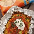 Tin Foil Packet Nacho Dip