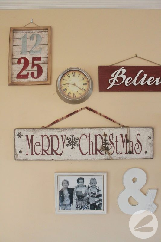Holiday Gallery Wall