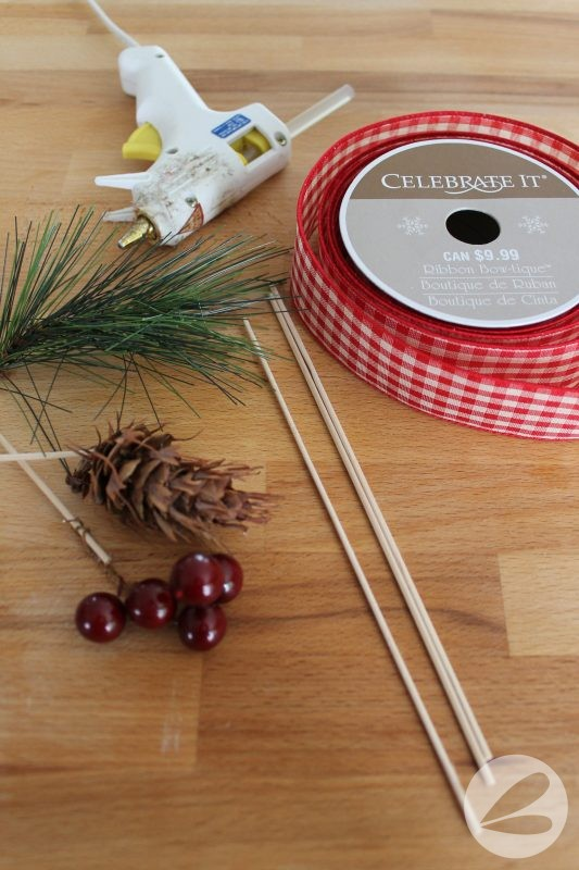 Holiday Ribbon Pick Tutorial