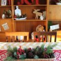 Holiday Shelf Decor