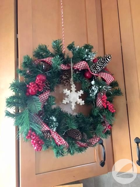 Dollar Store Wreath Upcycle