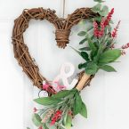 Valentine Grapevine Heart Wreath