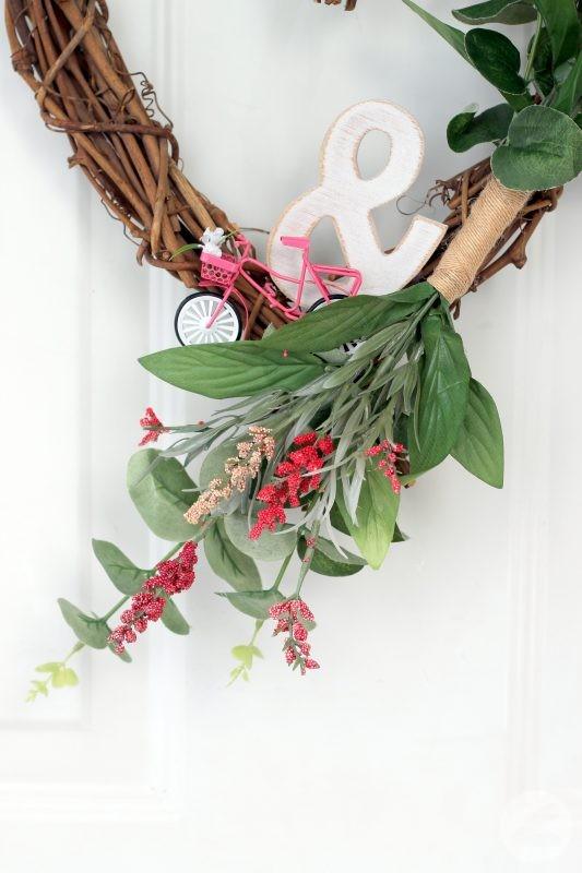Valentine Grapevine Heart Wreath