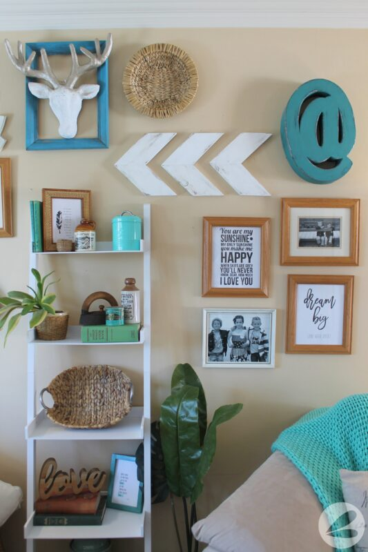 DIY Rustic Arrow Wall Decor