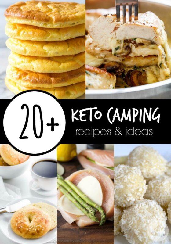 20+ Keto Camping Recipes and Ideas