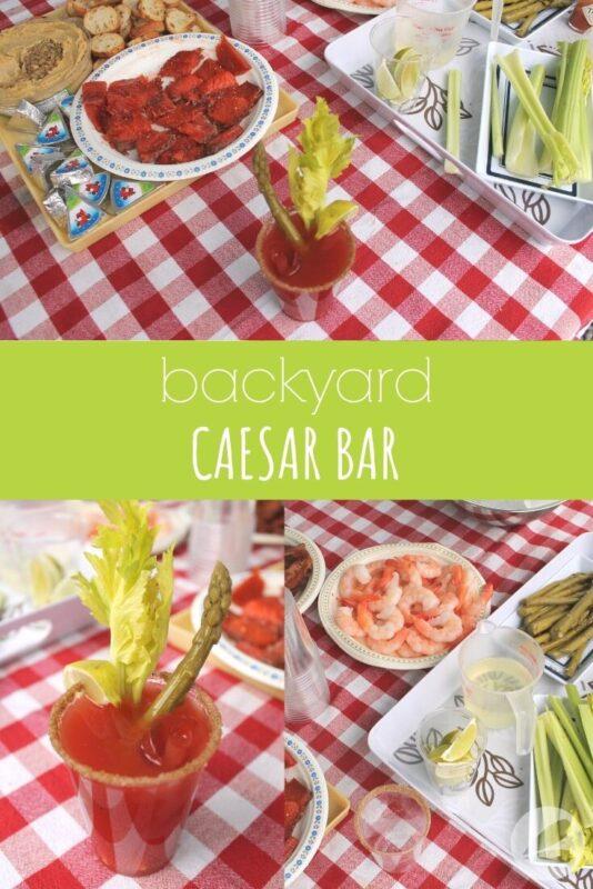 backyard caesar bar