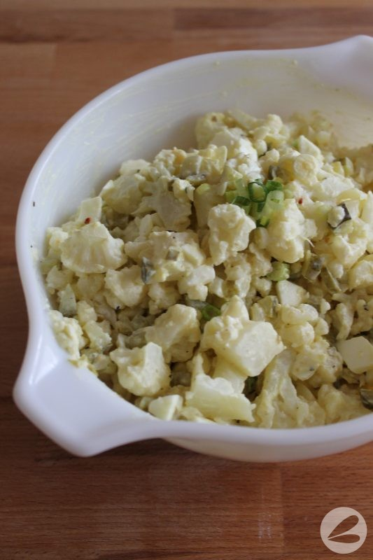 Cauliflower Keto Salad