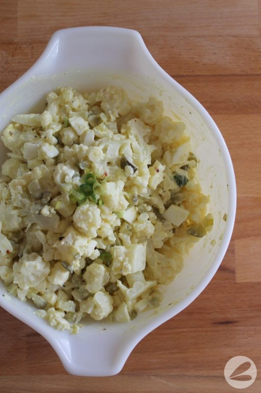 Cauliflower Keto Salad