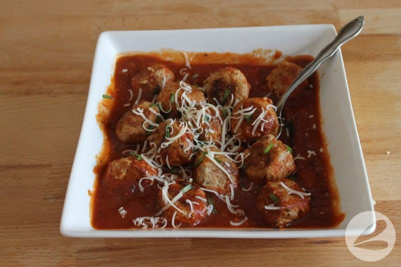 Low Carb Turkey Meatballs