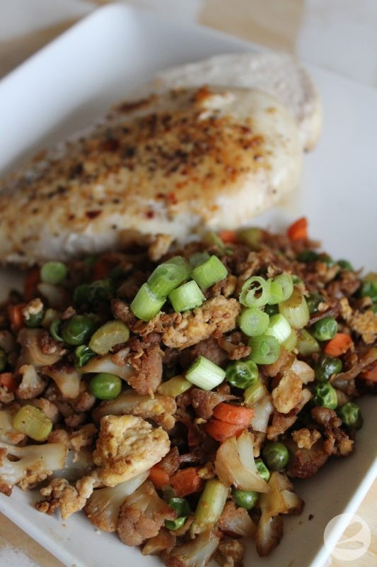"Cauliflower ""Fried Rice"" Recipe"