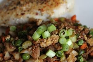 "Cauliflower ""Fried Rice"" Recipe"