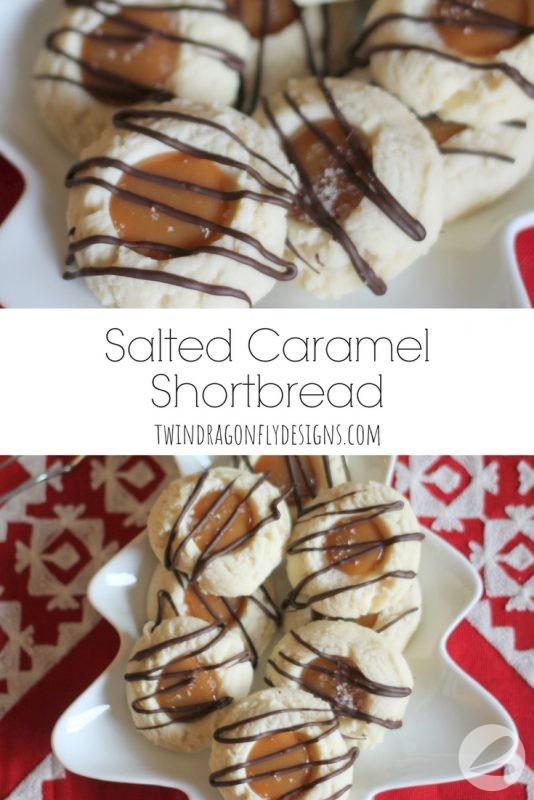 Salted Caramel Shortbread Recipe