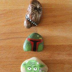 Star Wars Rock Photo Holders
