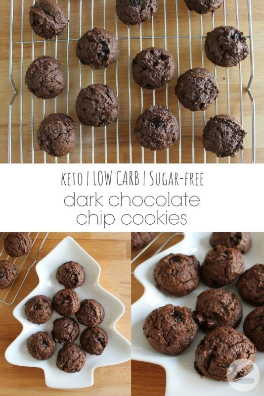 Keto Dark Chocolate Chip Cookie Recipe