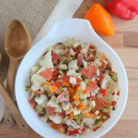 Italian Cauliflower Salad Recipe