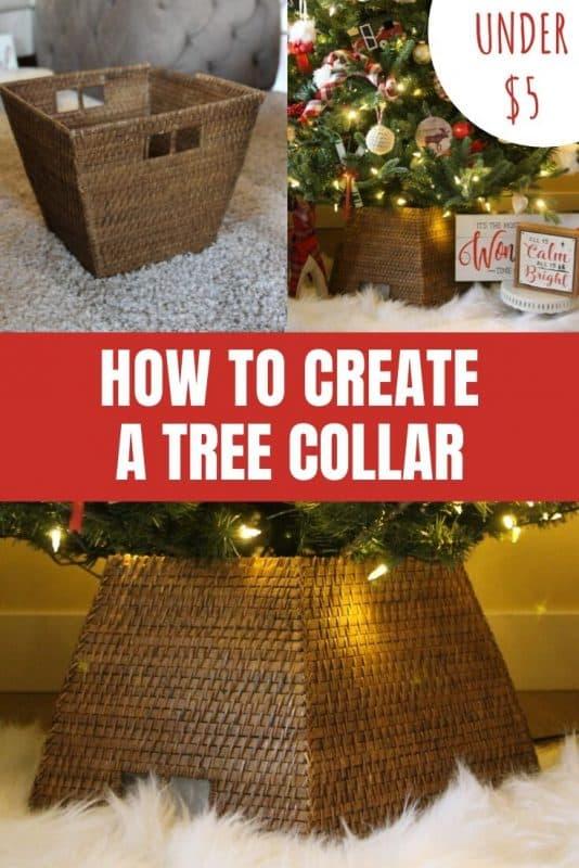 How to Create a DIY Tree Collar