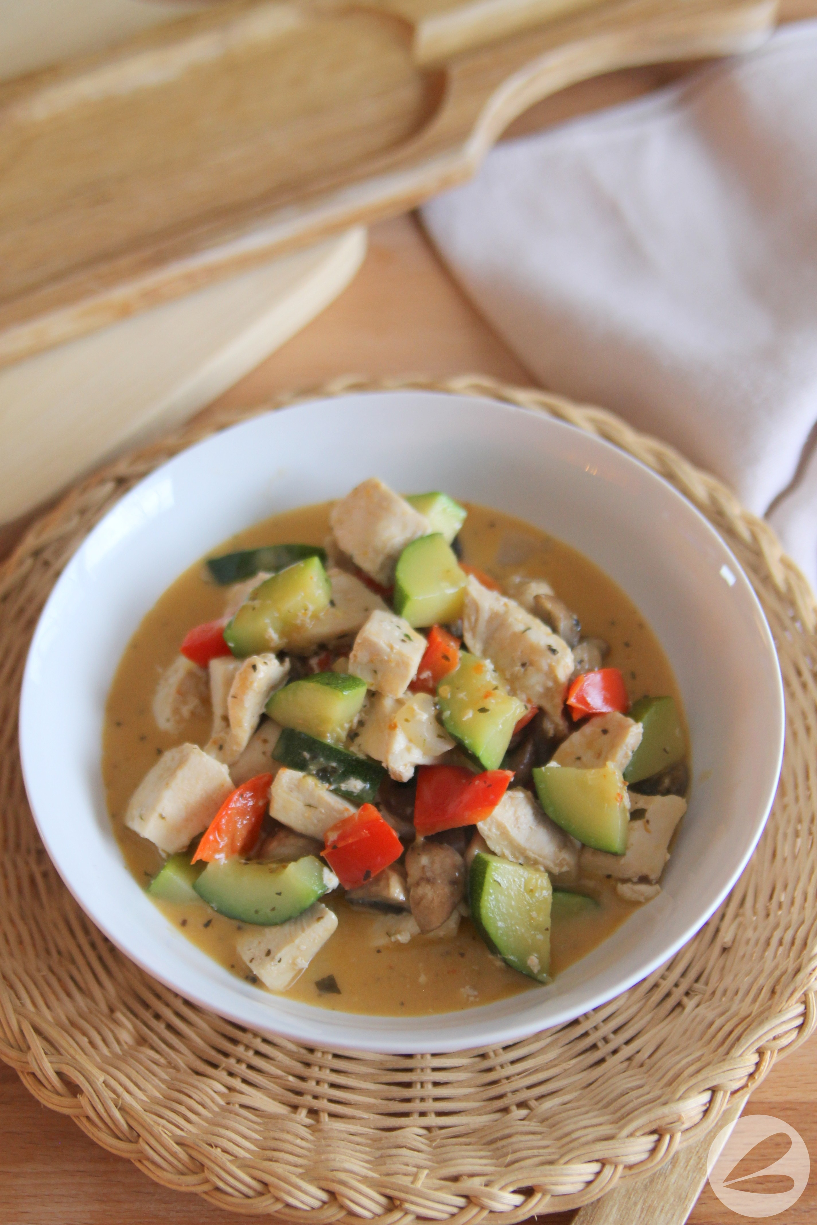 Easy Keto Curry Chicken Recipe