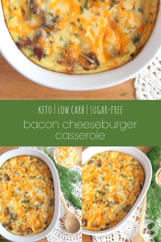 Bacon Cheeseburger Casserole
