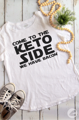 Keto T-shirt Ideas and Free Cut Files