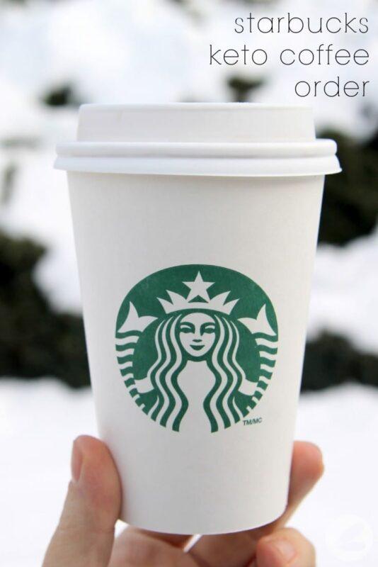 Starbucks Keto Coffee Order