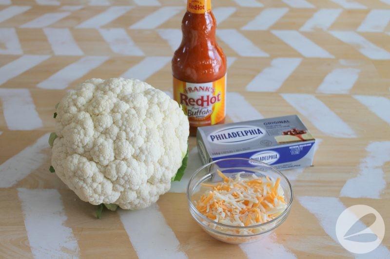 buffalo cauliflower bake