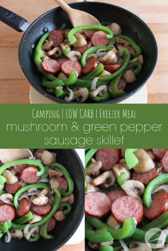 camping sausage skillet recipe