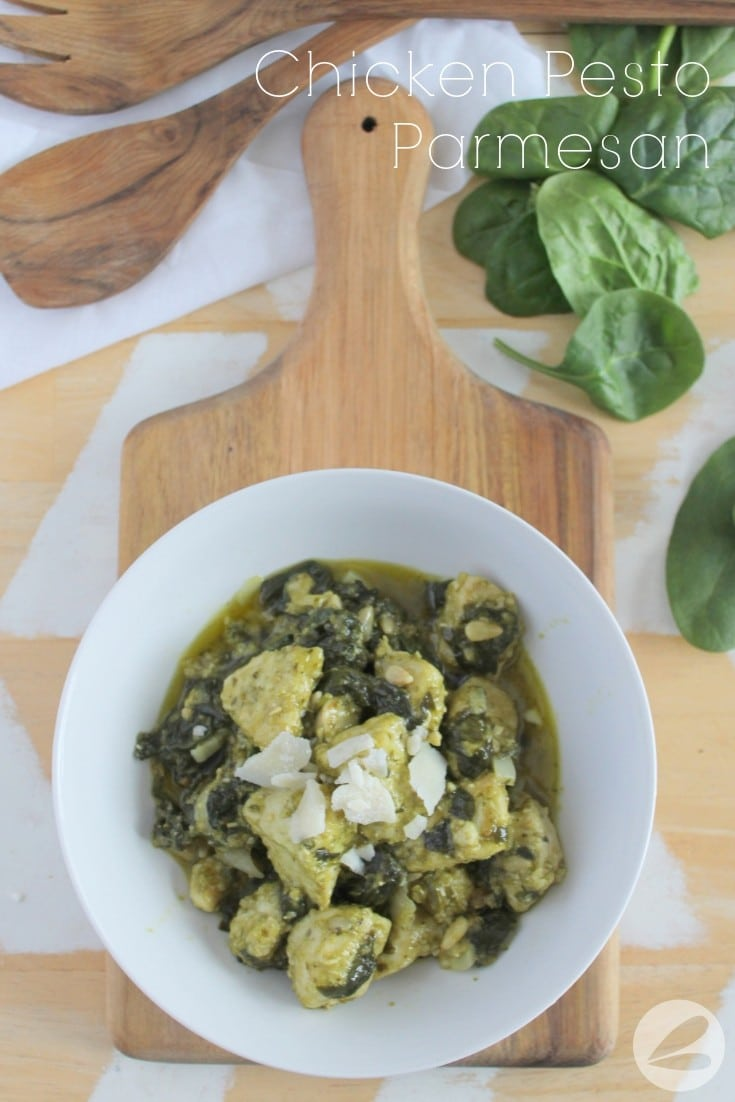 Chicken Pesto Parmesan Recipe