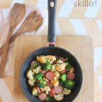 hearty sausage skillet camping recipe