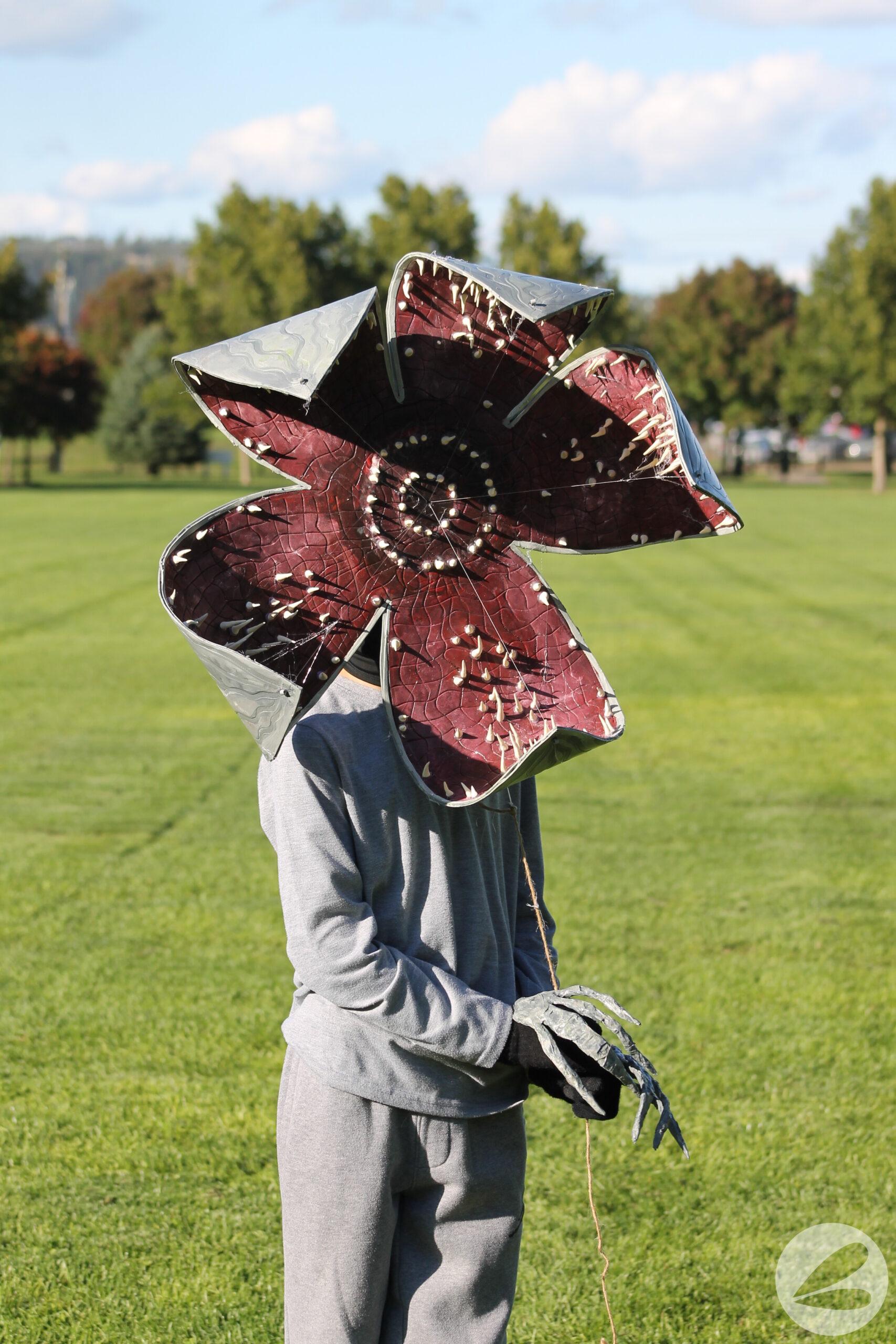 stranger  functioning demogorgon mask diy homemade